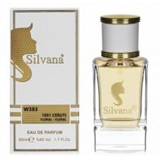 "Парфюмерная вода Silvana W 383 ""1881 CERUTI"", 50 ml"
